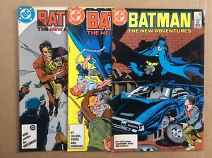 Batman 408 409 410 FN Midgrade DC Key 3 Book Lot