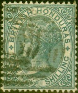 British Honduras 1887 1s Grey SG22 Fine Used