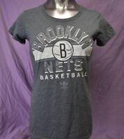 adidas Womens NBA Brooklyn Nets Basketball Shirt NWT M, L