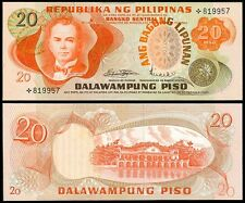 ABL Philippines 20 Pesos STARNOTE  MARCOS - LICAROS Light CB Seal Banknote