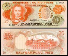 ABL Philippines 20 Pesos STARNOTE  MARCOS - LICAROS Light CB Seal Banknote