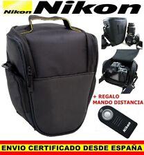MOCHILA BOLSA FUNDA CAMARA REFLEX NIKON D D3100 D3200 D3300 D5100 D5200 D7100 LF