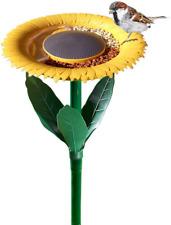 Okoray Sunflower Bird Feeder Outdoor - The Original Flower Shape Bird Feeding St