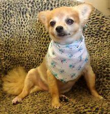 FLORAL SMALL DOG KERCHIEF BANDANA SCARF FOR LAP DOGS UP TO 5KG*
