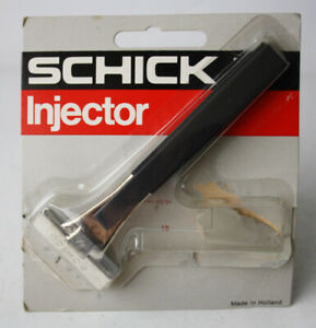 RARE VINTAGE 80'S SCHICK INJECTOR RAZOR MADE IN HOLLAND NEW MISSES BLADES