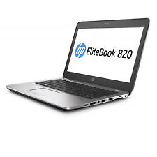 "HP EliteBook 820 G3 12.5"" HD I5-6200u 4gb RAM 500gb HDD Bluetooth V6D57PA"