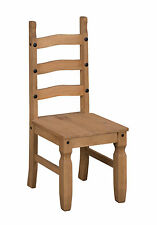 Mercers Furniture CORONA Dining Chairs - Pine 1 Pair