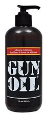 GUN OIL 16oz. SILICONE BASED LUBRICANT LUBE ADULT ENHANCER EROTIC EXOTIC