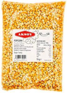 Popcorn Seeds / Kernels / Popping Corn Raw Free UK P&P 250g - 25kg