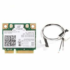 Wireless Intel 7260 7260HMW Dual Band Mini PCI-E Wifi Card BT 4.0 + 2 Antennas