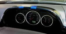 D Nissan XTrail T30 Chrom Tachoringe - Edelstahl poliert