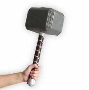 "1:1 Thor Hammer Replica Mjolnir Prop 28"" Foam for Avengers Cosplay Viking Toy"