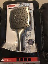Delta shower head brushed nickel