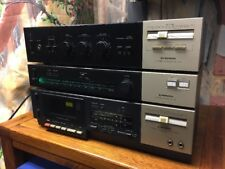 Pioneer SA-130 integrated amplifier TX-130 tuner with CT-330 cassette deck bundl