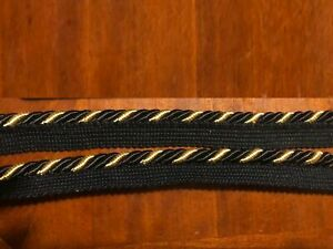 "conso 1//2/"" Scroll Braid Gimp Maroon Black Cherry J15 Upholstery Furniture 009940"