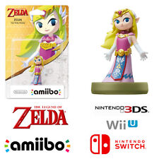 Toon Zelda Character Amiibo For The Legend Of Zelda Nintendo 3DS Wii U Switch