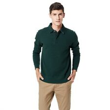 Gant Men's Sacker Rib Two-Button Sweater Jumper Size L