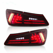 LED Taillight Rear Light For Lexus is250 is350 ISF is220d 2006-2012 Lens Set