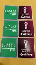 WORLD CUP 2022 QUATAR FIFA QUALIFIERS UNIQUE 2 PATCHES ! !