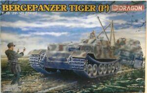 Dragon 6226 WWII German Bergepanzer Tiger (P) Tank model kit 1/35