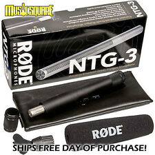 RODE NTG-3 Professional Precision Shotgun Microphone - NTG3 SHIPS DAY YOU BUY!