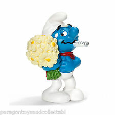 SCHLEICH SMURFS SPECIAL OCCASSIONS - 20752 - Get Well Soon Smurf Figure