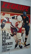 L'EQUIPE MAGAZINE N°3 1980 RUGBY HOCKEY CHRISTOPHE ASM FOOTBALL DARNICHE PELEN