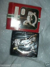 Silverplated Rocking Horse Christmas Ornament w box