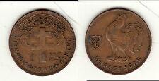 A SAISIR   1 FRANC 1943 HONNEUR PATRIE MADAGASCAR  B1 T4