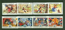 Disney A45 Little Red Riding Hood Diamong of India Animarion 8v MNH