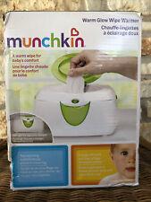 Munchkin Warm Glow Wipe Warmer - Open Box - Green White