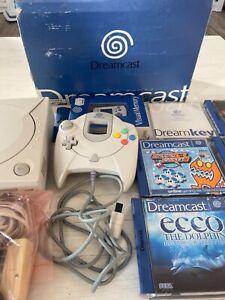 Sega Dreamcast Konsole mit Controller Memory Cards 5 Spiele ovp