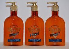 3 Bath & Body Works Bee Bright Mandarin & Clove Nourishing Hand Soap 8oz New