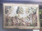 European Verdure Hand Woven Fine Wool Tapestry