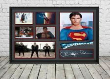 Christopher Reeve Superman 2 Signed Photo Print Poster Christopher Reeve Movie
