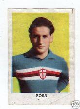 RARA  FIGURINA  CALCIATORI  LAMPO  CAMPIONATO 1955/56  SAMPDORIA  ROSA