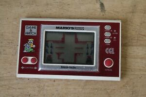 Nintendo Game and Watch Mario's Cement Factory Tested & Working (Hospsicare)