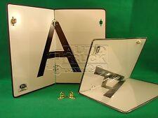 2x A Tafel Abfalltafel Warntafel 300x400 klappbar aus Alumin. mit extra Schanier