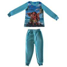 Pyjama polaire Vaiana bleu pâle Taille de 2 à 8 ans