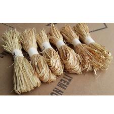 1 pc/set raffia natural reed tying craft ribbon paper twine 30g JR