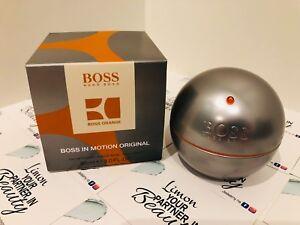 Hugo Boss In Motion 90ml Eau De Toilette- Genuine - Boxed-