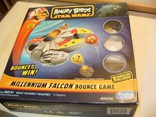 ANGRY BIRDS STAR WARS MILLENIUM FALCON BOUNCE GAME  HASBRO