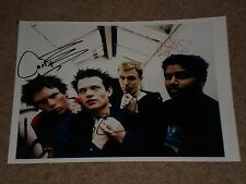 """SUM 41"" ROCK BAND SIGNED AUTOGRAPHED 8.5X11 PHOTO - SIGNED BY ALL 4!"