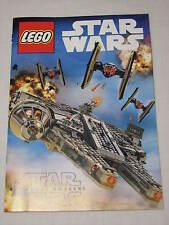 LEGO Star Wars The Force Awakens Minifigures Catalog Activity Book Vehicles Rey