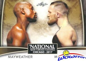 2017 Leaf #VIP-02 Mayweather vs McGregor EXCLUSIVE National Promo MINT !