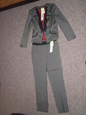 Marks & Spencer Grau & Schwarz Hose Suit-UK 12