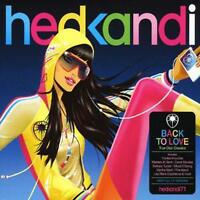 Various Artists : Hed Kandi - Back to Love CD 2 discs (2007) Fast and FREE P & P