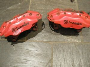 Brembo Front Calipers - Fiat Coupe 20v Turbo - Red
