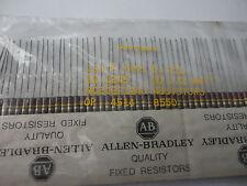50PCS ALLEN BRADLEY 120K-1/2W-5% CARBON COMP. 1/2WATT RESISTOR