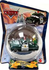 Disney Cars Christmas Package Holiday Spirit Sheriff Diecast Car [2010]